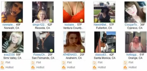 fake women on adult friend finder