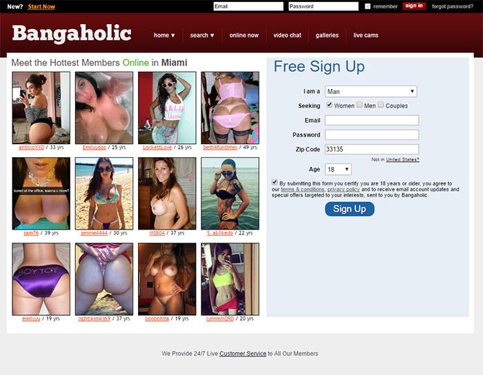 find a hookup on bangaholic