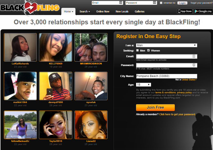 hook up with black chicks on blackfling.com