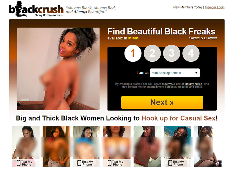 finding a hookup on blackcrush.com
