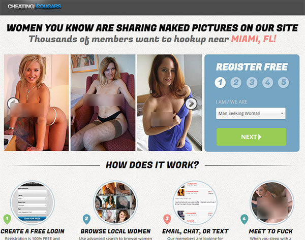 review of cheatingcougars dating site for adults