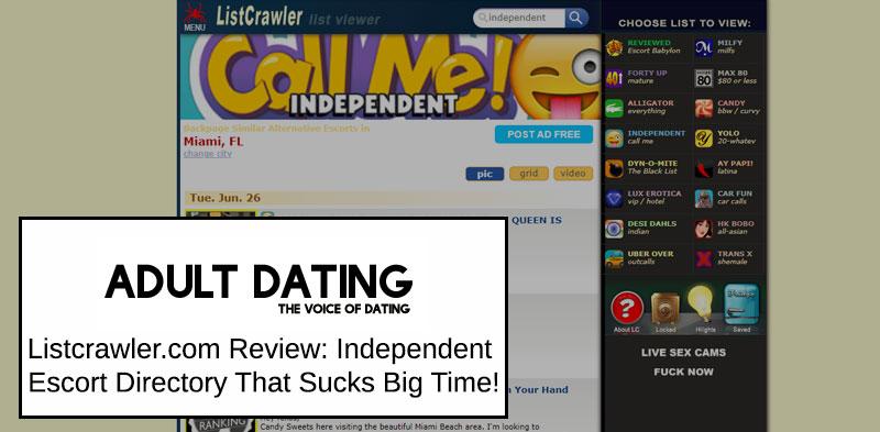 Listcrawler.com homepage