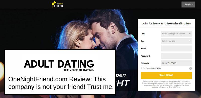 OneNightFriend.com Review