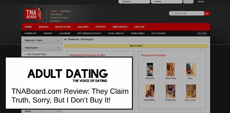 TNABoard homepage