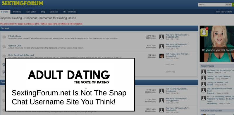 sexting forum homepage