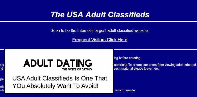 USAAdultClassifieds site