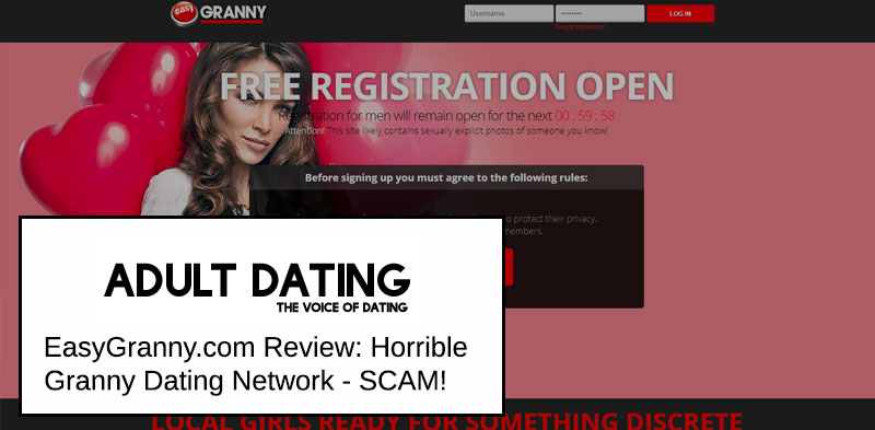 EasyGranny homepage