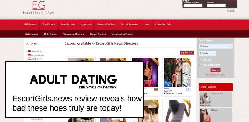escort girls news homepage