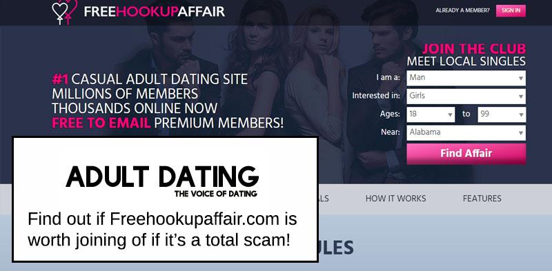 Freehookupaffair site