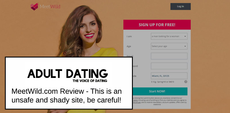 MeetWild site review